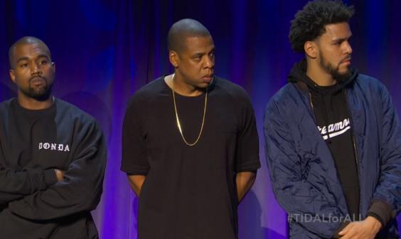 J Cole and Kanye and Jayz
